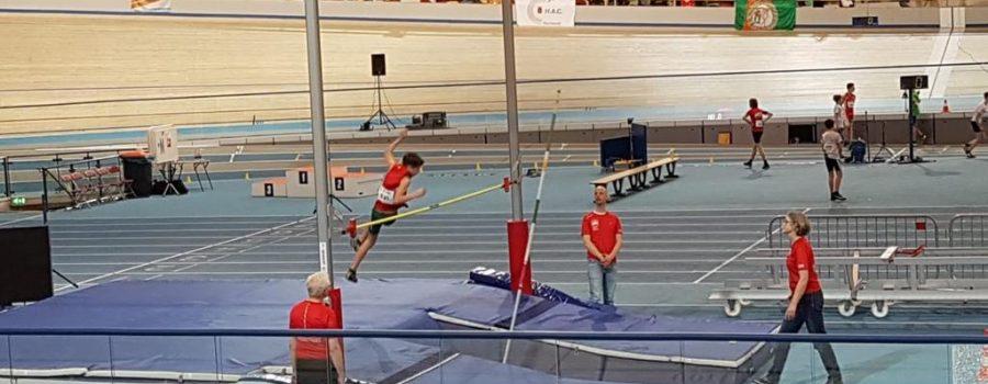Horror Atleet Sander De Haan Pakt Zilver Bij Polshoog Op CD Indoor
